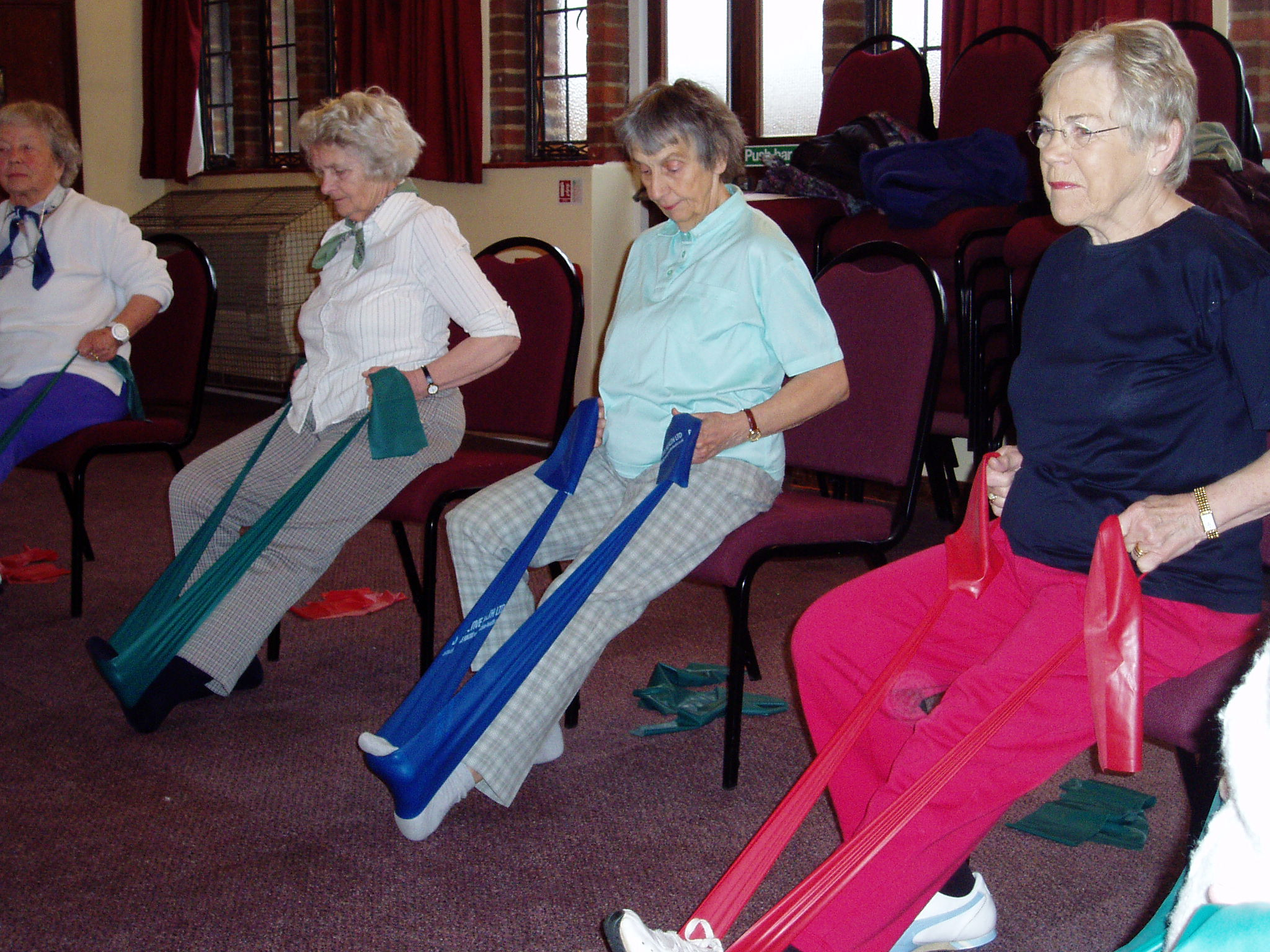 OTAGO & CHAIR BASED EXERCISE CLASSES HOME FITNESS Hertfordshire